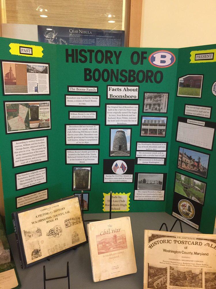 Washington County Free Library - Boonsboro Free Library Branch: 401 Potomac St, Boonsboro, MD