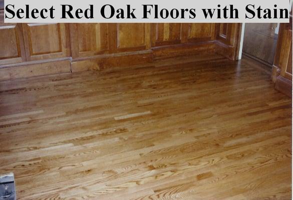 Photo Of Superior Floors   Leesburg, VA, United States. Stained Red Oak  Floors