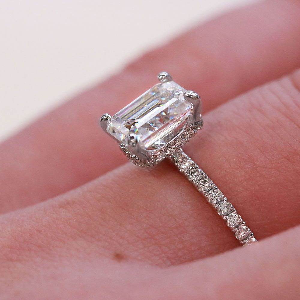 Parade Designer Engagement Rings style R2474B and Lyria Leaves ...
