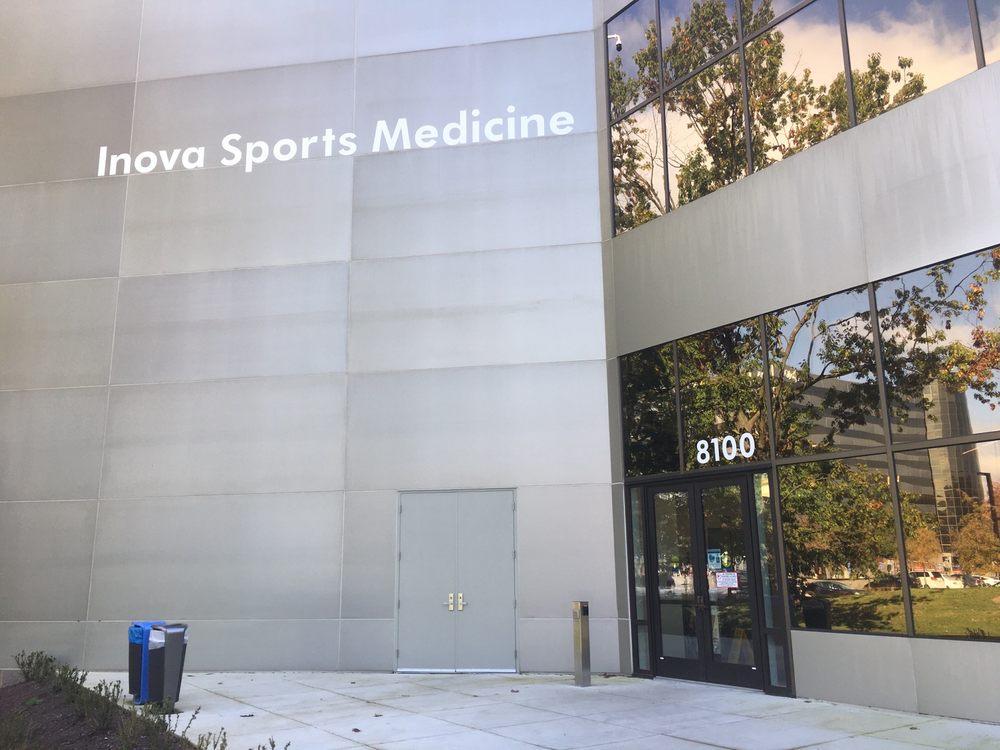 Inova Medical Group Sports Medicine: 8100 Innovation Park Dr, Annandale, VA
