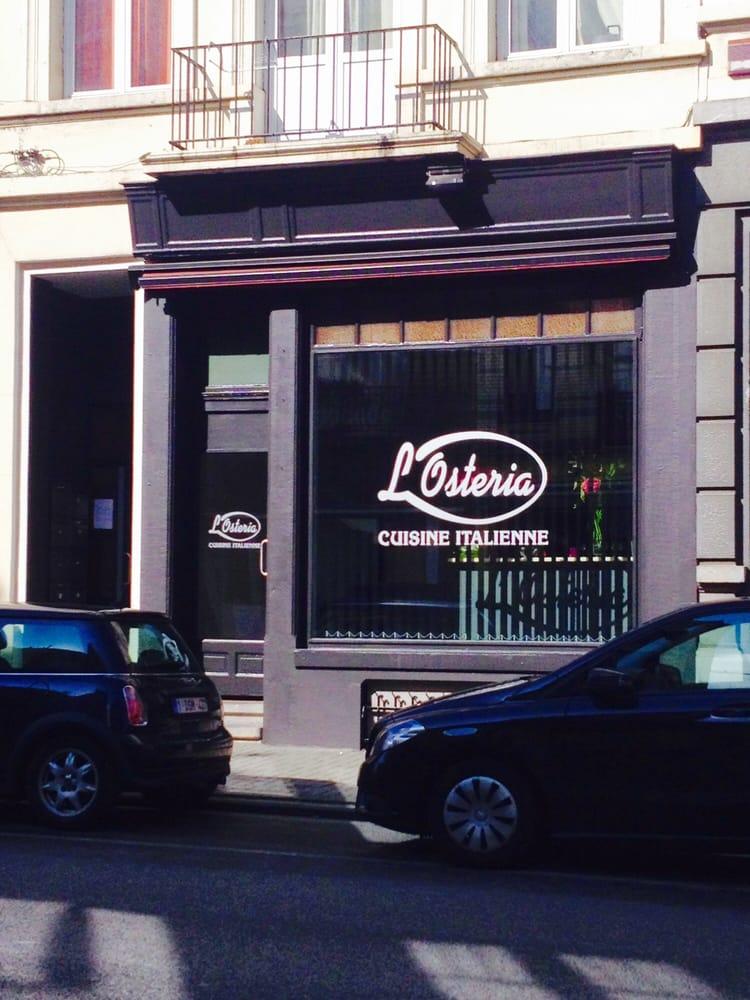 L osteria 10 kuvaa italialainen chaussee de vleurgat - Garage chaussee de bruxelles dampremy ...