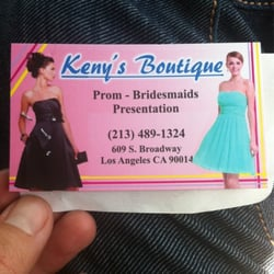 Keny S Boutique Fashion 609 Broadway Downtown Los Angeles Ca