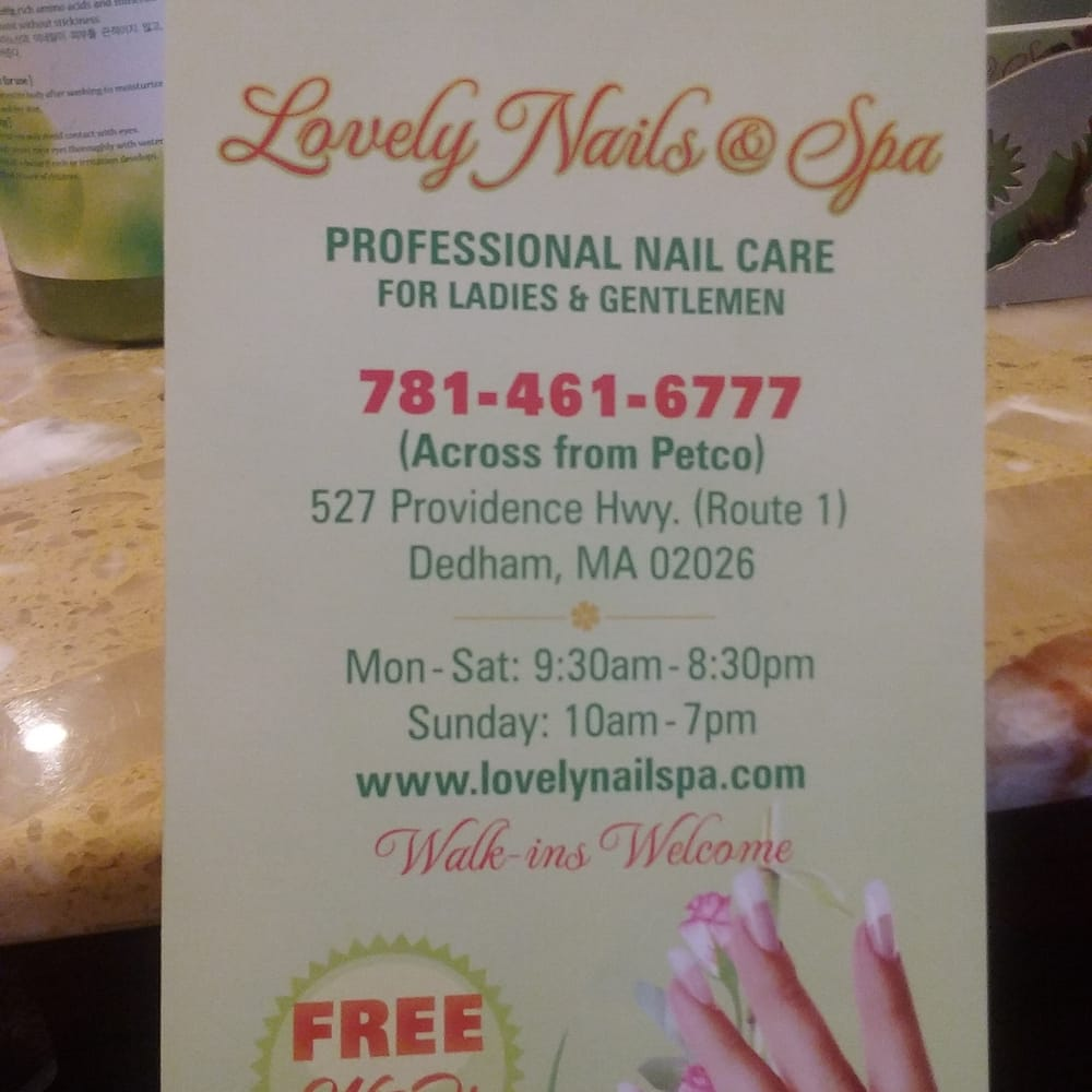 Photos for Lovely Nails & Spa - Yelp