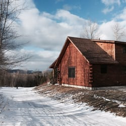 Photo Of Muddy Moose Log Cabins Morrisville Vt United States