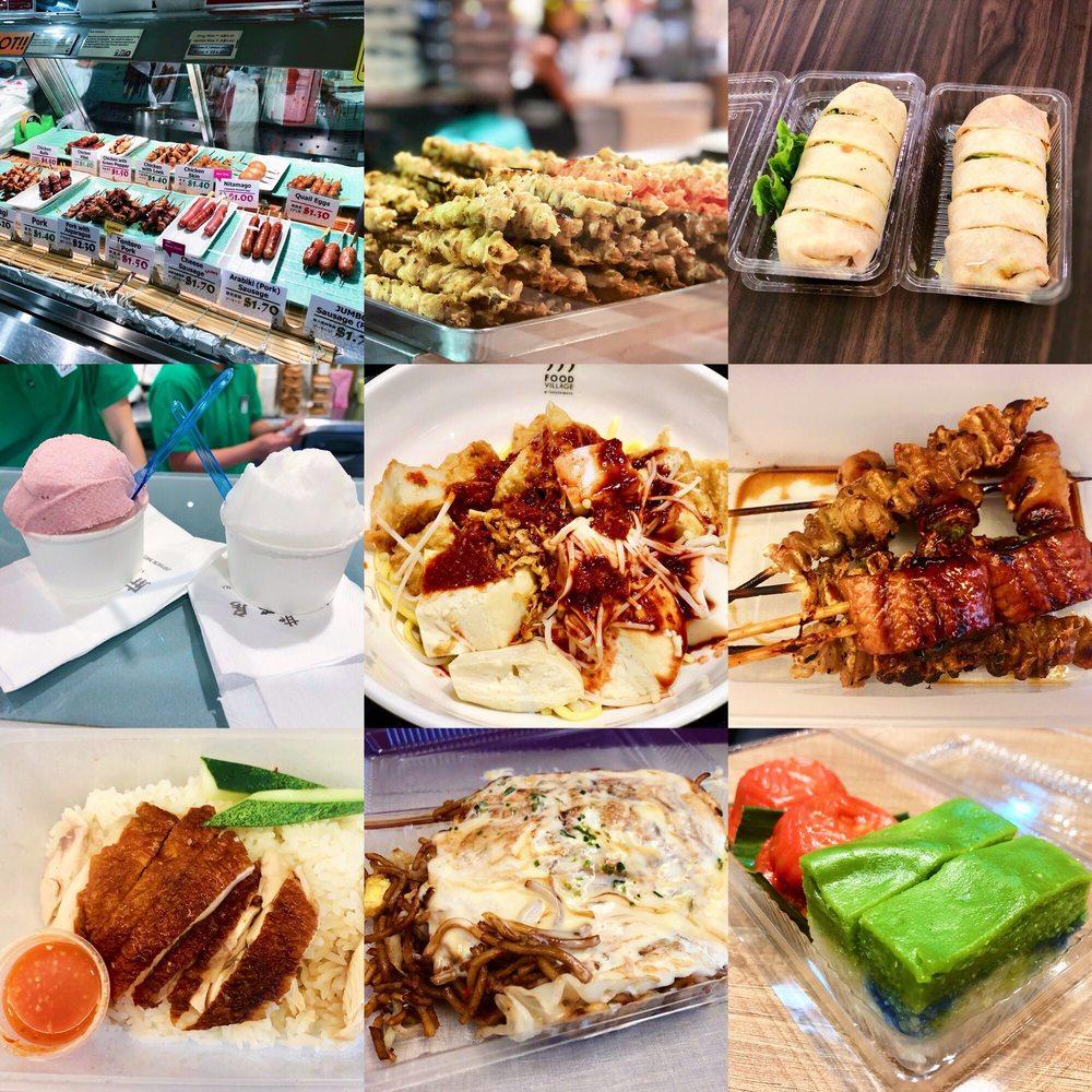 Food Village @ Takashimaya