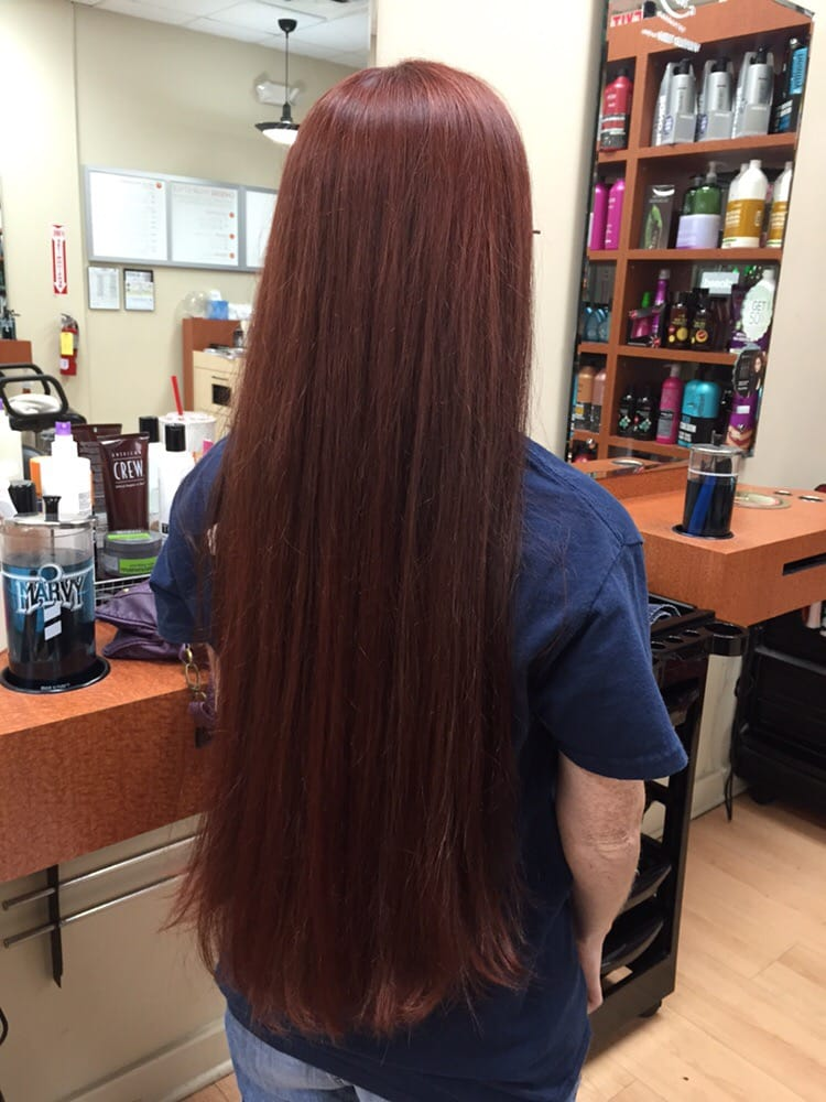 Redken Shades Eq 5v Red Violet Colored By Becky Yelp
