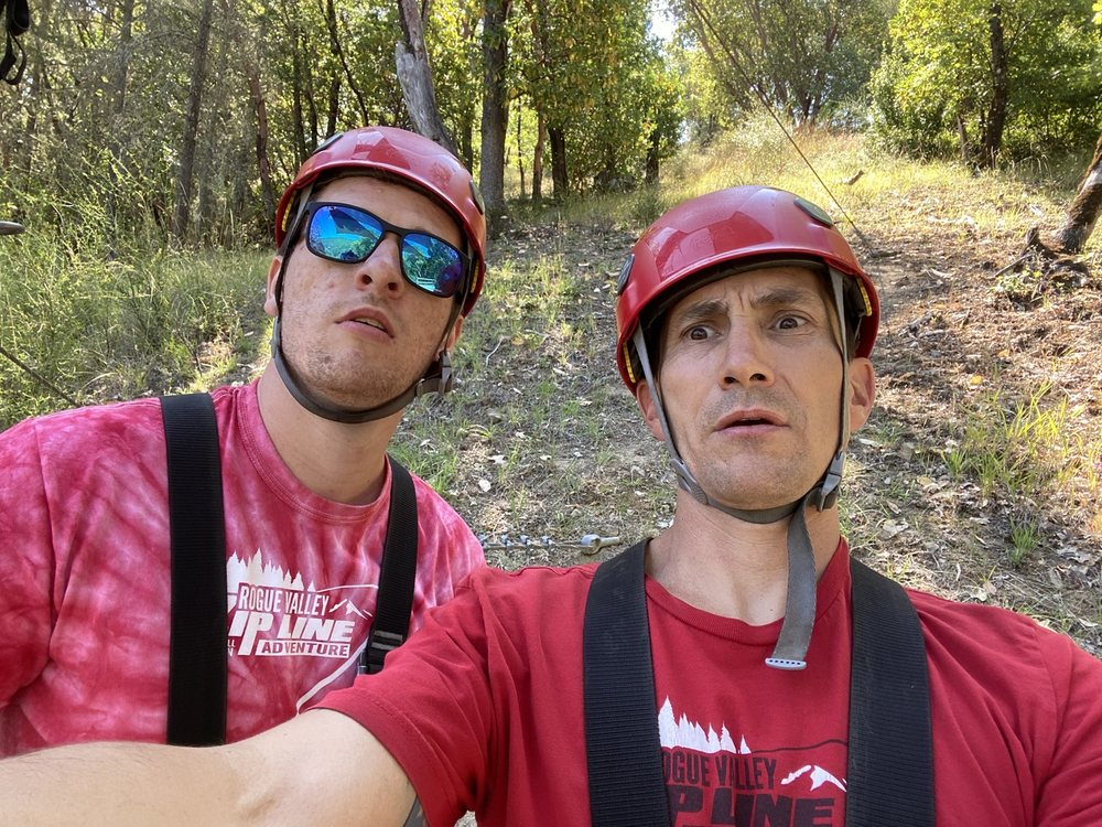 Rogue Valley ZipLine Adventure: 9450 Old Stage Rd, Gold Hill, OR