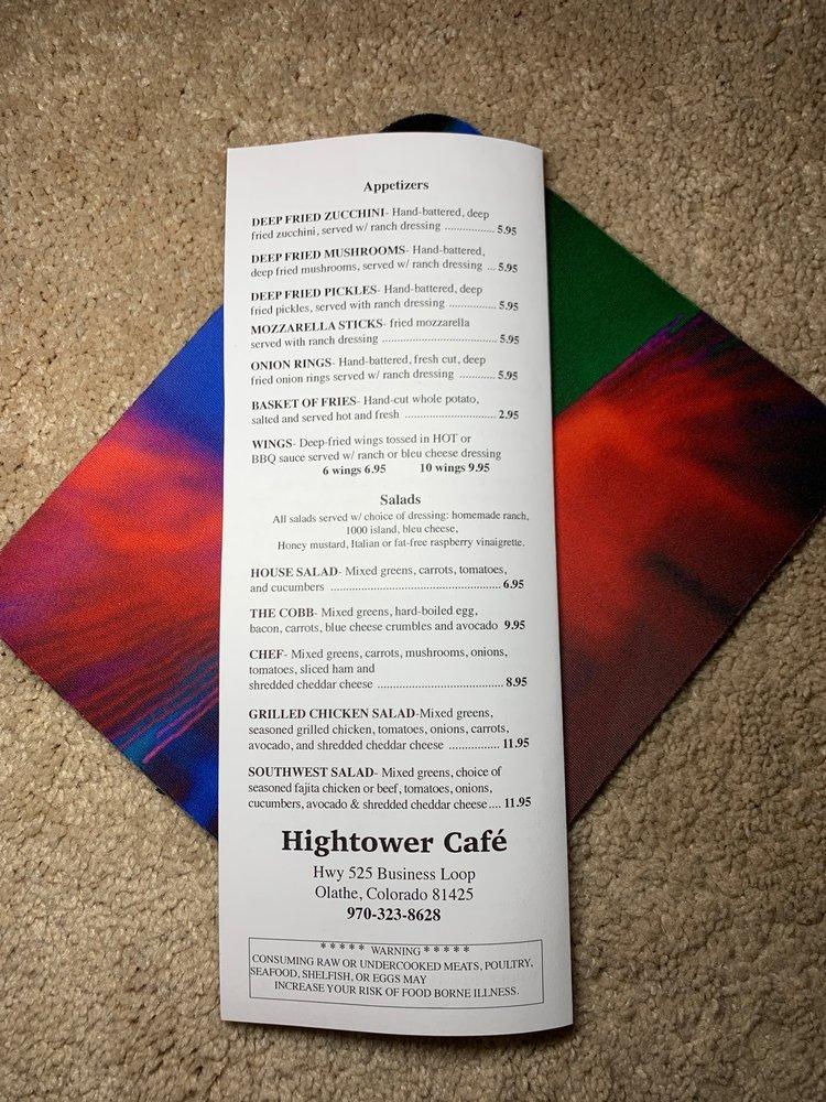 Hightower Café: 525 Hwy 50 Business Loop, Olathe, CO