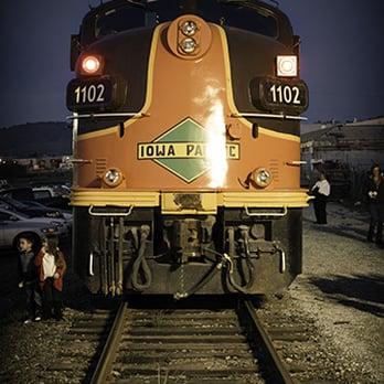 photo of train to christmastown watsonville ca united states iowa pacific train