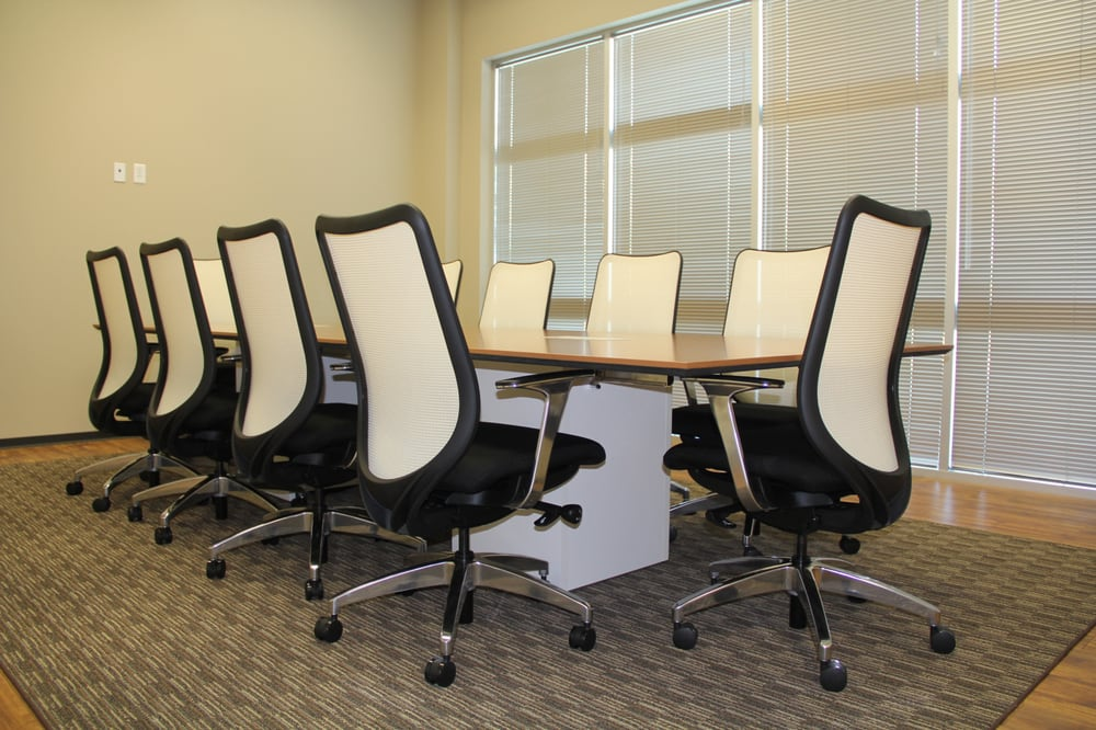 HON Nucleus Chairs And Preside Conference Table Very Sleek And - Preside conference table