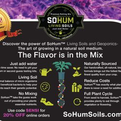 Photo Of SoHum Living Soils   Denver, CO, United States. JUST ADD WATER
