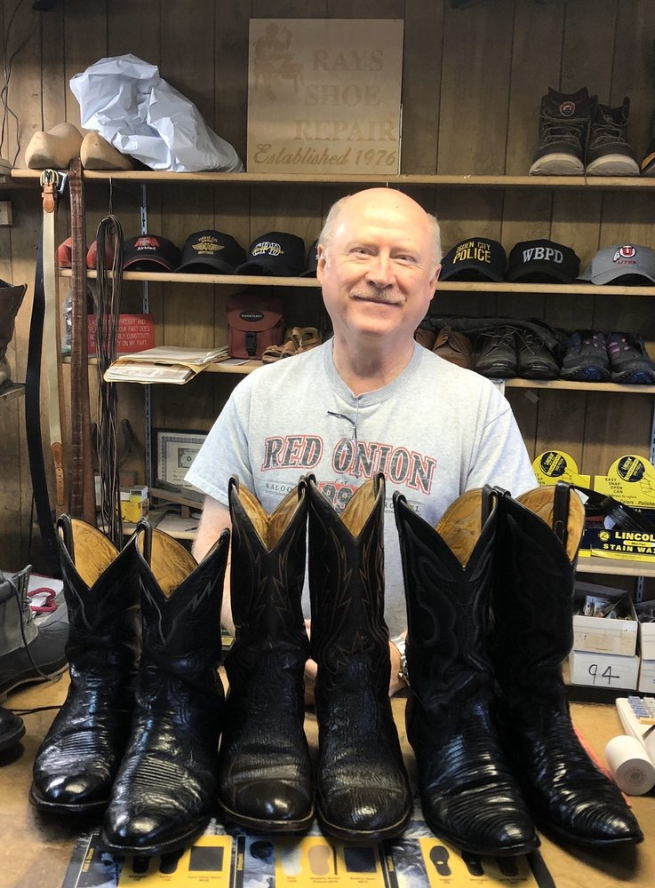 Ray's Shoe Repair: 15 N Main St, Kaysville, UT
