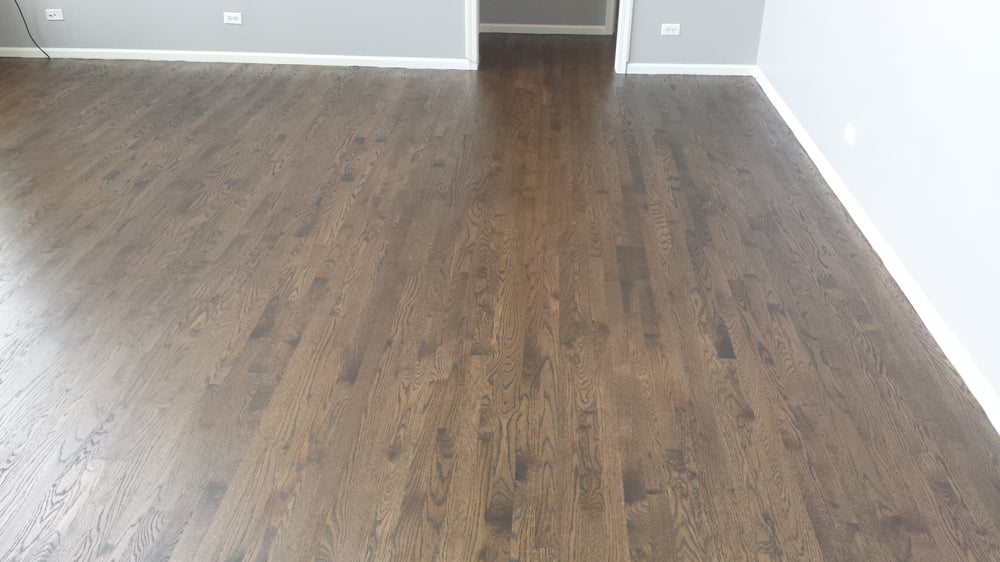 Red Oak Water Popped Grain Stained Jacobean Yelp