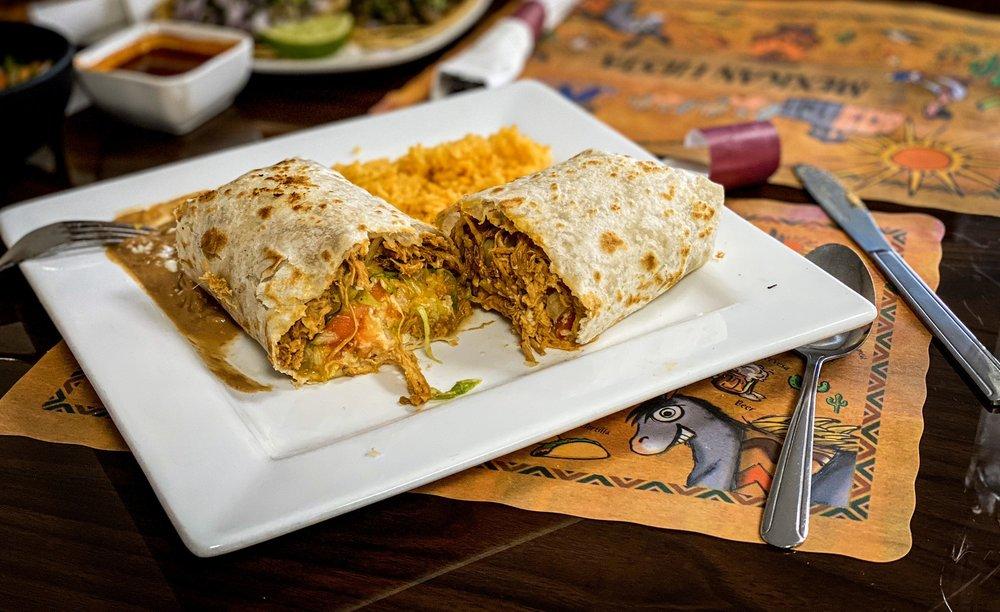 Food from Lazo's Taco Shack
