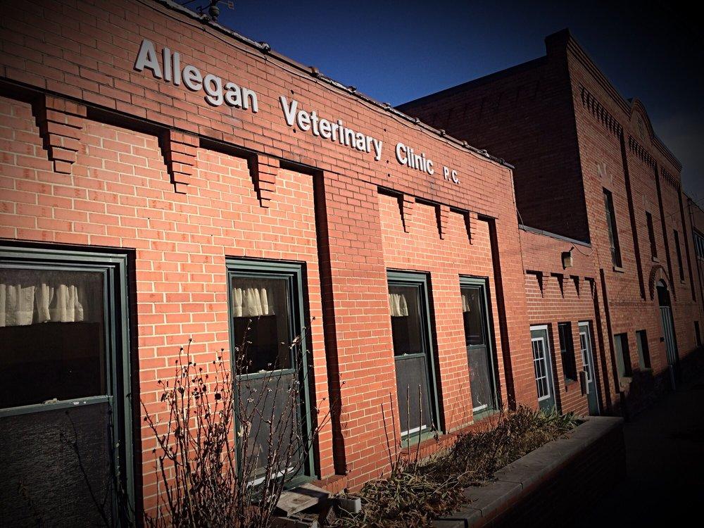 Allegan Veterinary Clinic: 100 Water St, Allegan, MI