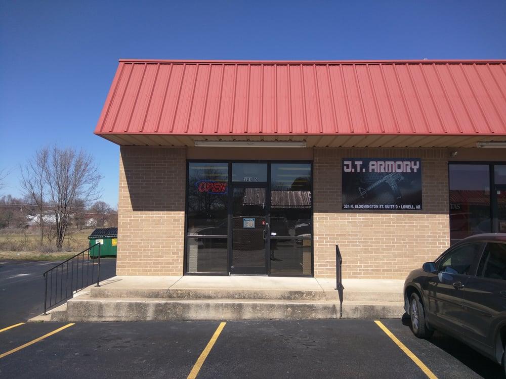 J T Armory: 324 N Bloomington St, Lowell, AR