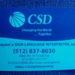 Csd Of Texas Community Service Non Profit 1524 S I H 35