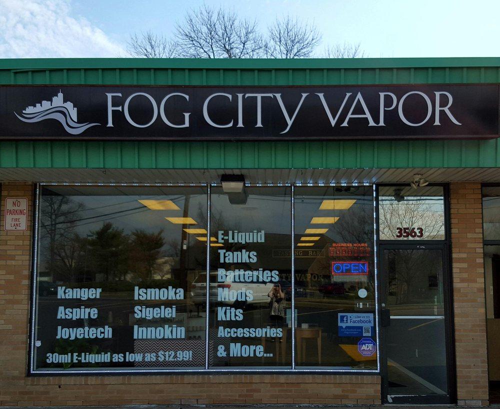 Fog City Vapor: 3563 Hulmeville Rd, Bensalem, PA
