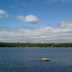 Photo Of Knotty Pines Resort Nevis Mn United States View From The