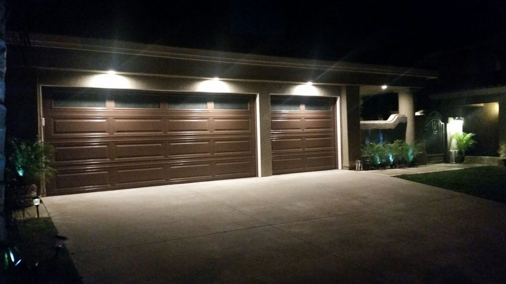 light above garage door gooseneck photo of morrell electric temecula ca united states can