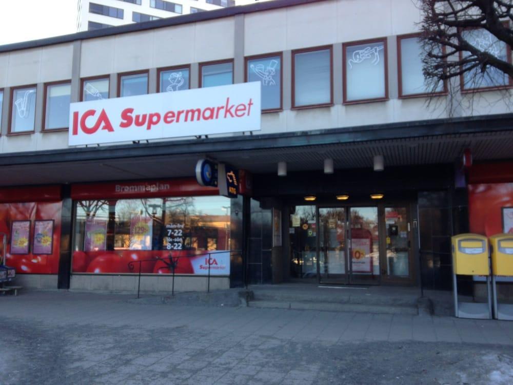 ica supermarket lindängen