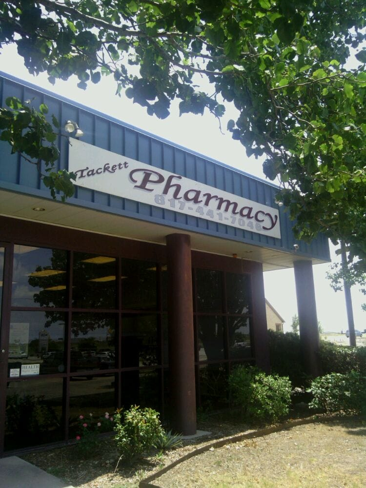 Tackett Pharmacy: 3500 Fort Worth Hwy, Hudson Oaks, TX