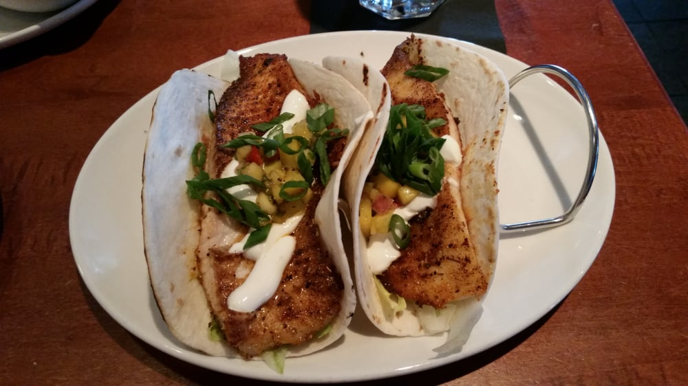 This fish taco tastes as amazing as it looks and it only for Mitchells fish market tampa