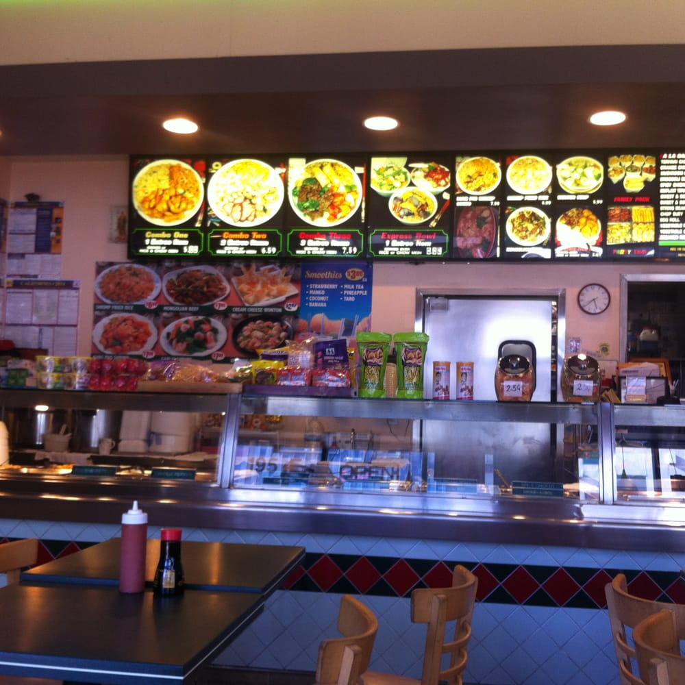 Chines Restaurant: Idea Of What It Looks Like Inside, Pretty Clean For A