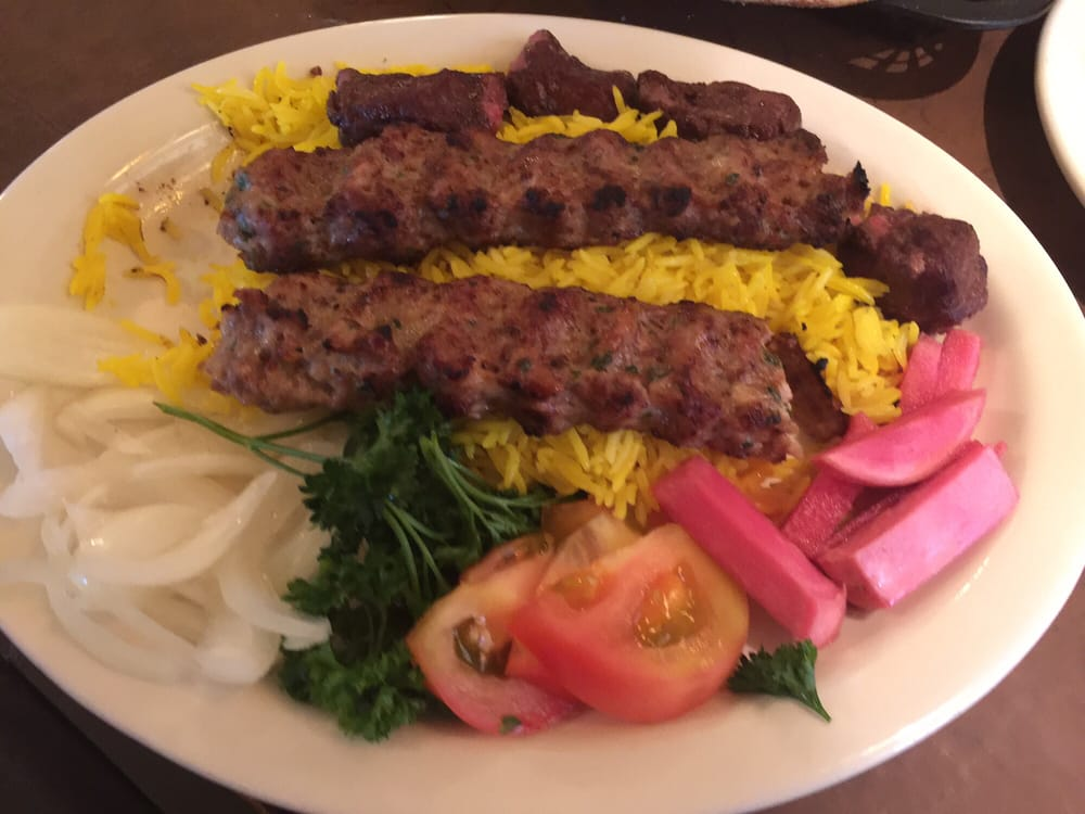 2 combo with chicken kabob beef tekka amazing flavor for Ali baba mediterranean cuisine