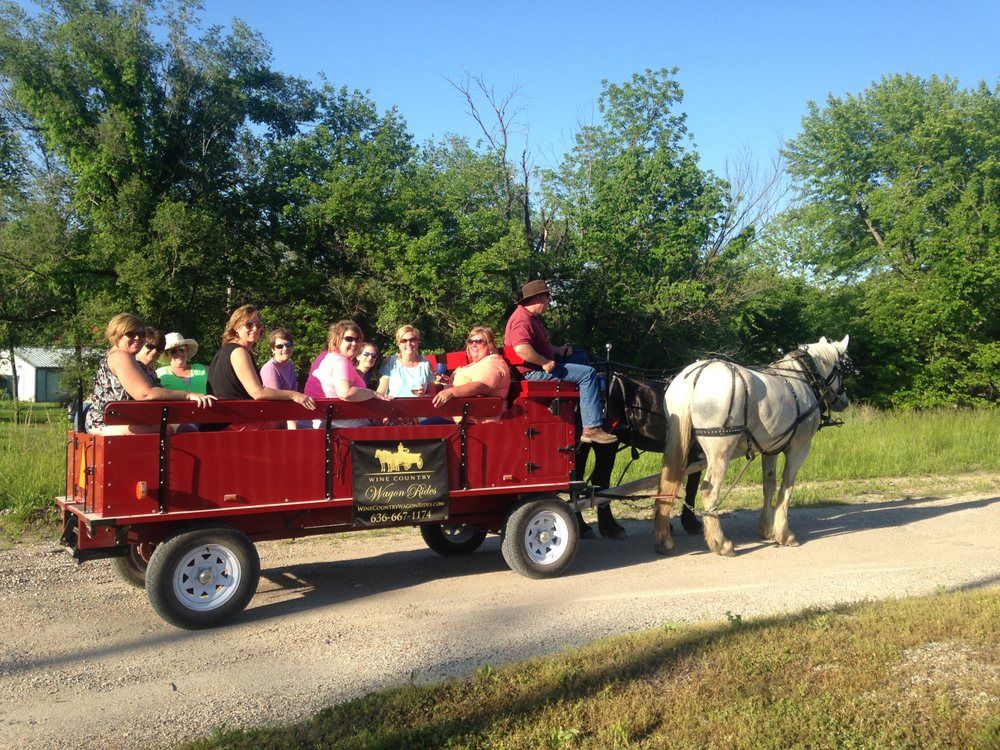 Wine Country Wagon Rides: 5319 Hwy Zz, Gerald, MO