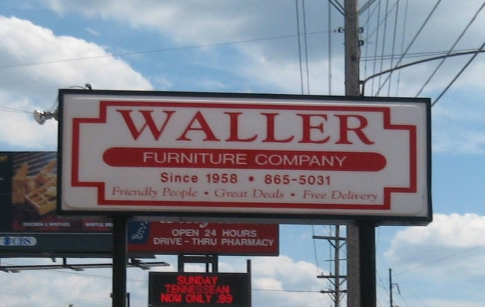 Waller Furniture CLOSED Furniture Stores 609