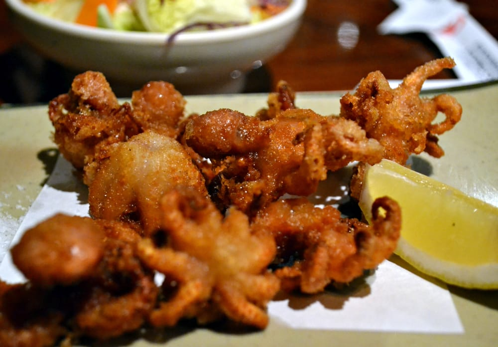 how to make fried octopus