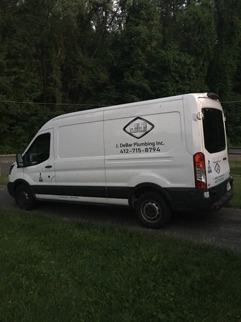 J. DeBar Plumbing: 82 Elm Rd, Hickory, PA