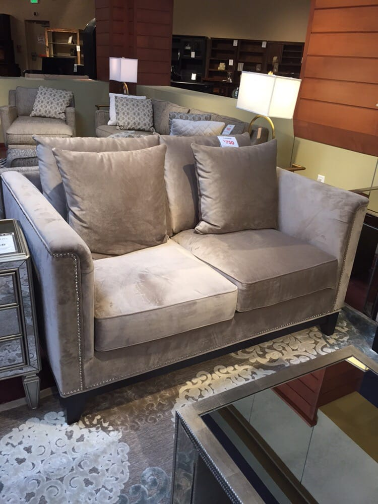 Our Allision love seat is home - Yelp
