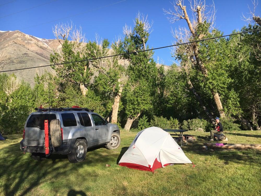McGee Creek RV Park & Campground: 110 McGee Creek Rd, Mammoth Lakes, CA
