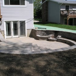 Photo Of Ellington Landscape Group   Lombard, IL, United States. Sunken  Patio With