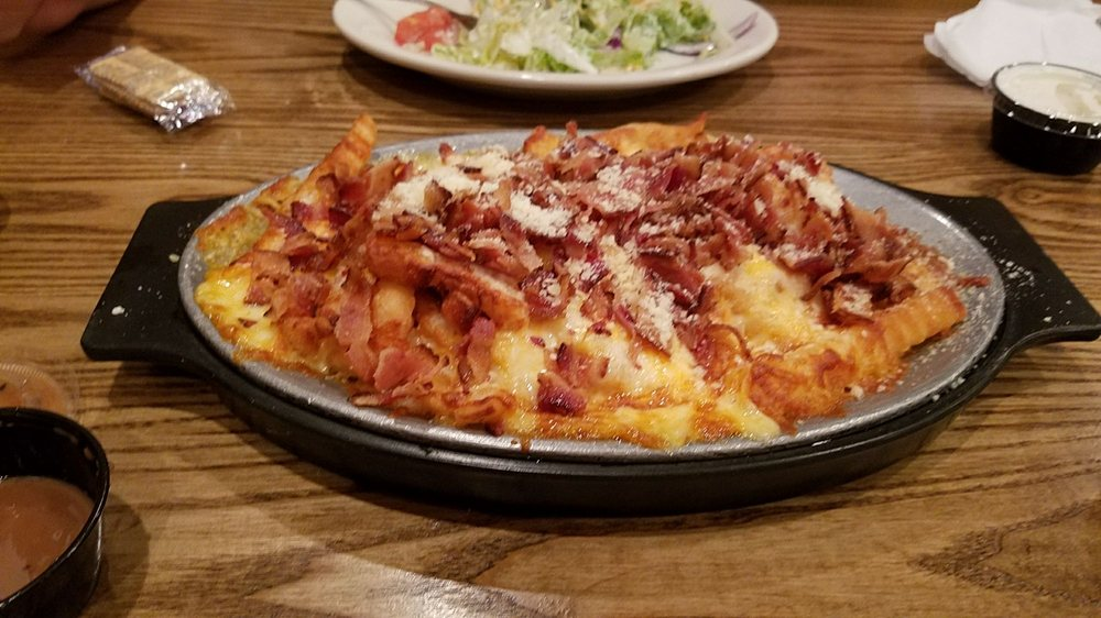 Bacon cheese fry appetizer, Huge! - Yelp