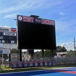 Photo of West Monroe High School - Monroe, LA, United States. Football  stadium