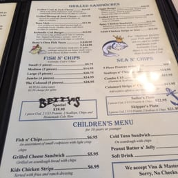 Photos for betty 39 s fish chips menu yelp for Bettys fish and chips