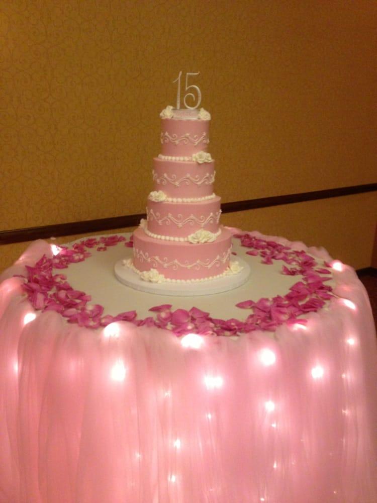 My Baby S Quinceanera Cake Yelp
