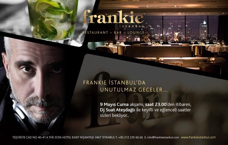 Frankie Istanbul - The Sofa Hotel