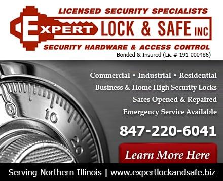 Expert Lock & Safe: Pingree Grove, IL