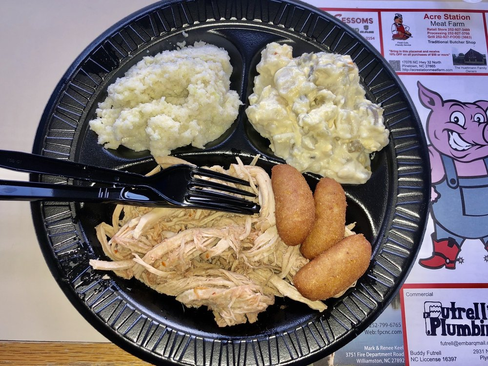 Hardison's Carolina Barbecue & Restaurant: 29606 US Highway 64, Jamesville, NC