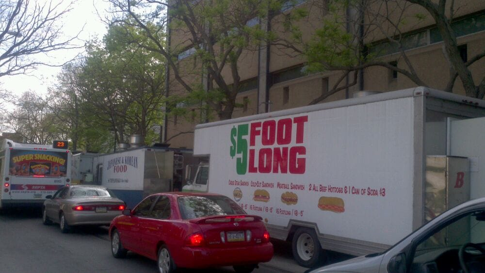 Foot Long Truck: 12TH St And Norris St, Philadelphia, PA