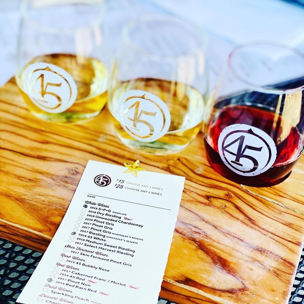 45 North Vineyard & Winery: 8580 E Horn Rd, Lake Leelanau, MI