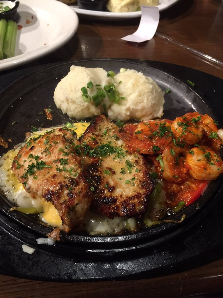 Chicken shrimp and the most amazing mashed potatoes yelp - Olive garden eastpointe mi 48021 ...