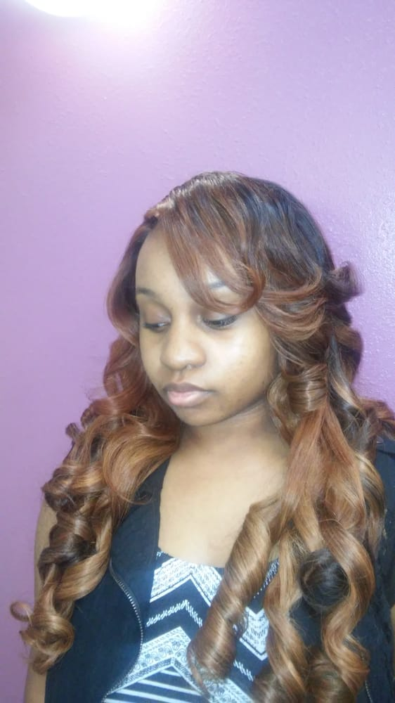 Sew in with closure by april walker yelp for A salon paul mitchell san diego
