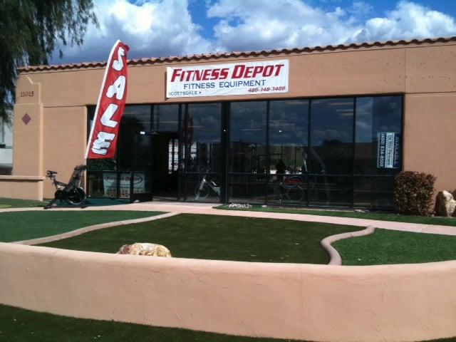 Fitness Depot: 11015 N Scottsdale Rd, Scottsdale, AZ