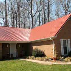 Photo Of Triad Installations   Greensboro, NC, United States. Red Metal Roof