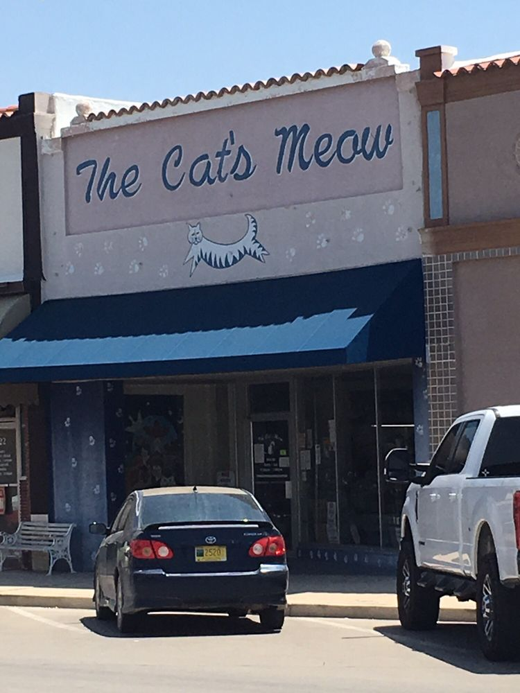 The Cats Meow: 124 S Canyon St, Carlsbad, NM